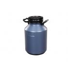 Galão Plástico Para Leite 20L Cinza Cód: 2085