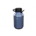 Galão Plástico Para Leite 50L Cinza Cód: 2086